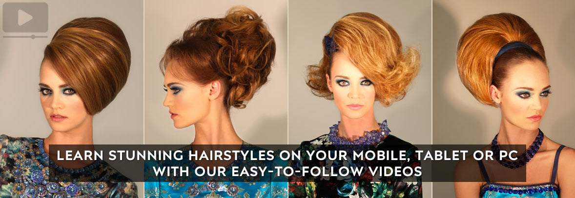 Modern Vintage - Contemporary 1960s Hairstyles Online Video ...