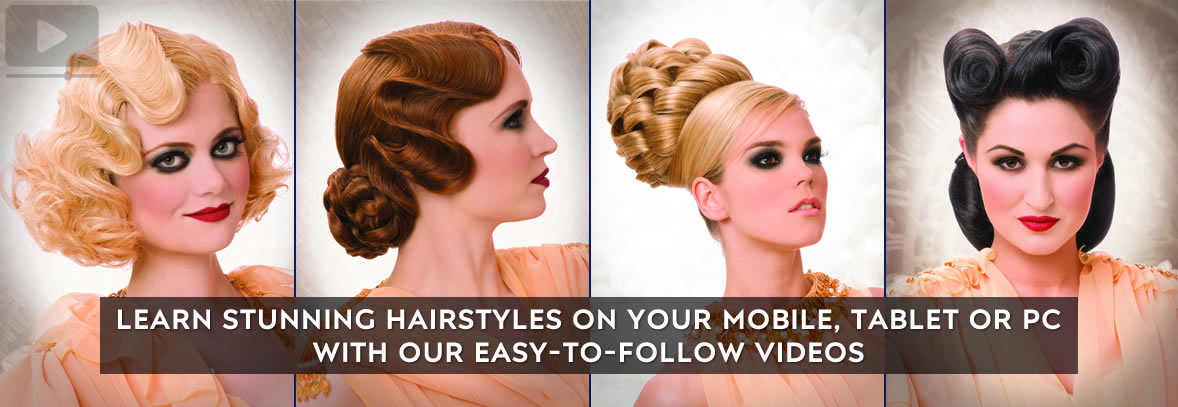 The Lost Art of Vintage Hair - Video On Demand