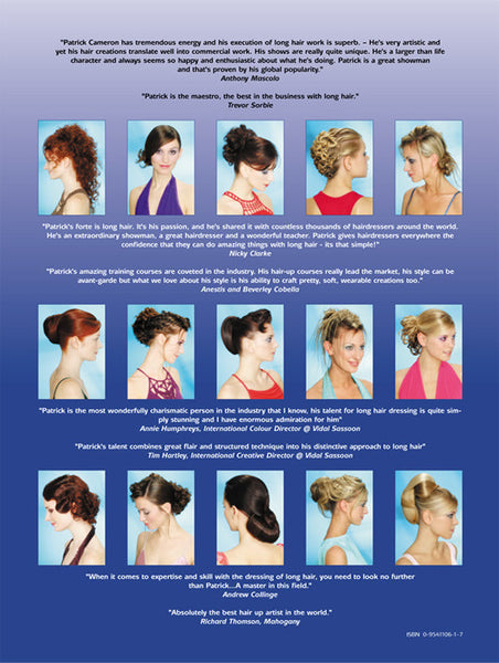 Dressing Long Hair 4 - Back Cover