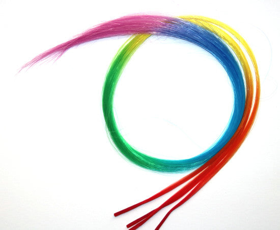 Patrick Cameron Rainbow Hair Pieces