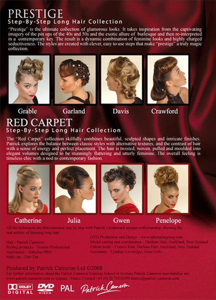 Red Carpet and Prestige - Back Cover