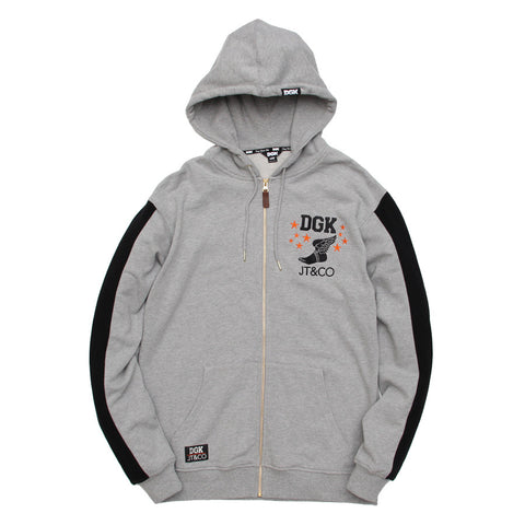 DGK x JT&CO TIMELESS CUSTOM ZIP HOODED FLEECE