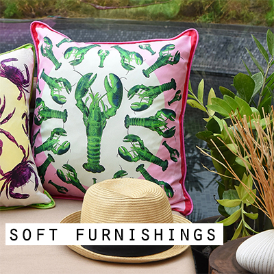 Art Cushions and Unique Soft Furnishings