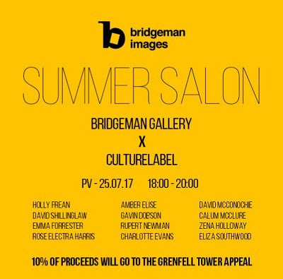 Bridgeman Gallery X CultureLabel Exhibition Summer Salon