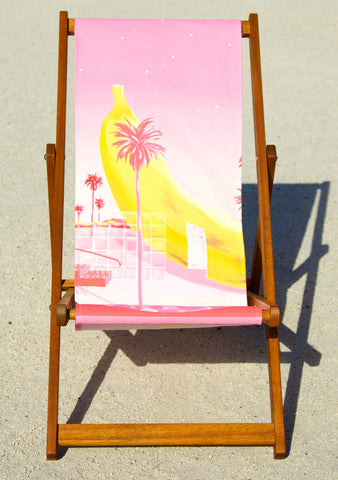 Deckchairs by Yoko Honda Banana Limited Edition