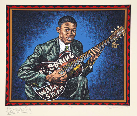 BB King by Robert Crumb