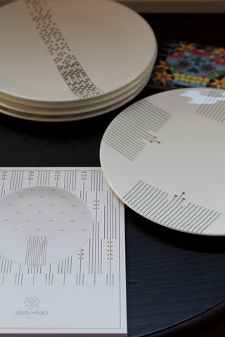 Plates from The Symphony Collection by Mira Santo