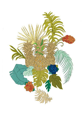 CLAIRE COLES  Pineapples