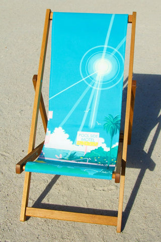 Deckchairs by Yoko Honda Poolside Motel