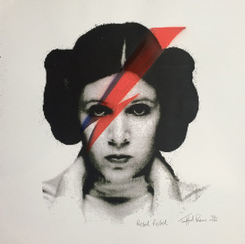 Celebrity Art: Rebel Rebel by Trafford Parsons