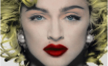 Celebrity Art: Madonna by Nick Holdsworth
