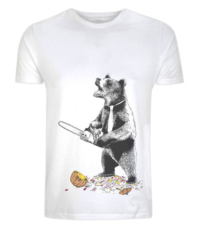 Scare Bear! Limited Edition TShirt. Jimbobart - CultureLabel - 1