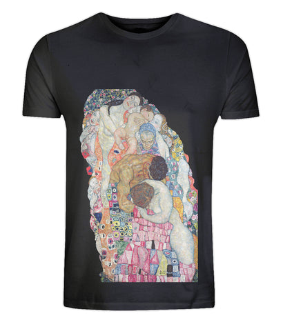 Gustav Klimt: Death and Life (detail) T-Shirt - CultureLabel - 1