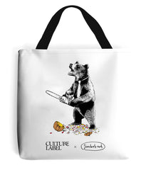Scare Bear! Limited Edition Tote Bag. Jimbobart