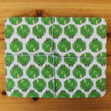 Christmas Sprout Placemat Set, Martha & Hepsie - CultureLabel - 1