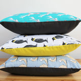 Penguin Party Cushion, Martha & Hepsie - CultureLabel - 2