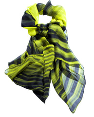 Innovation Silk Chiffon Scarf, Zaha Hadid