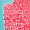Map of San Francsico, Ursula Hitz - CultureLabel - 5 (close up)