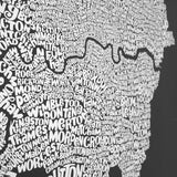 Map of Greater London, Ursula Hitz - CultureLabel