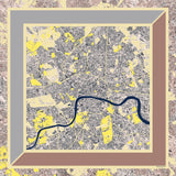 Yellow City Silk Shawl, Insitucity - CultureLabel - 1