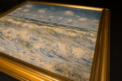 A Stormy Sea by Claude Monet 3d Reproduction, Verus Art Alternate View