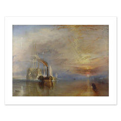 The Fighting Temeraire Cushion, The National Gallery Alternate View