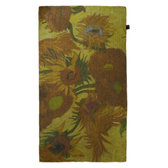 Sunflowers Georgette Silk Scarf, The National Gallery Alternate View