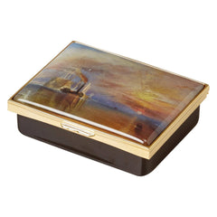 Fighting Temeraire Large Enamel Trinket Box, The National Gallery Alternate View