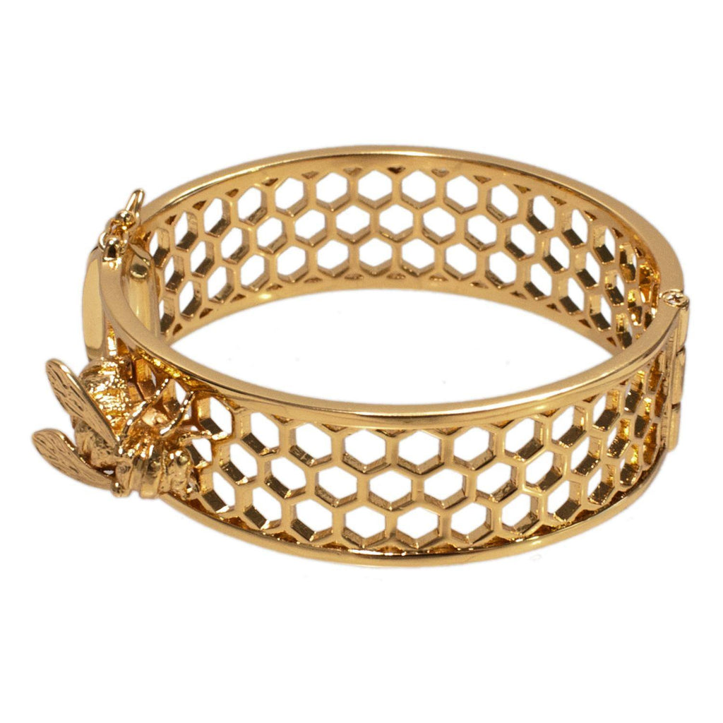 Bee & Honeycomb Bangle, The National Gallery - CultureLabel - 1
