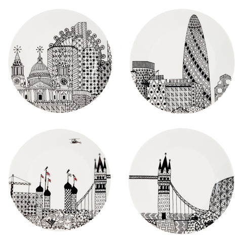 London Plate Set, The National Gallery - CultureLabel - 1