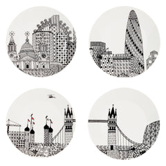 London Plate Set, The National Gallery