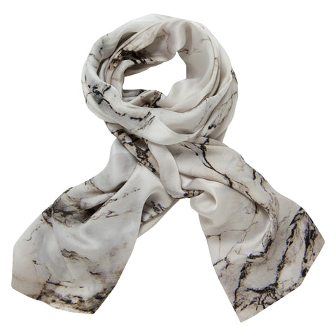 Marble Print Silk Scarf, The National Gallery