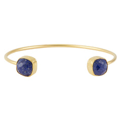 Miniature Open Square Lapis Bangle, The National Gallery