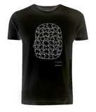 Jigsaw Head Unisex T-Shirt, David Shillinglaw x Mind