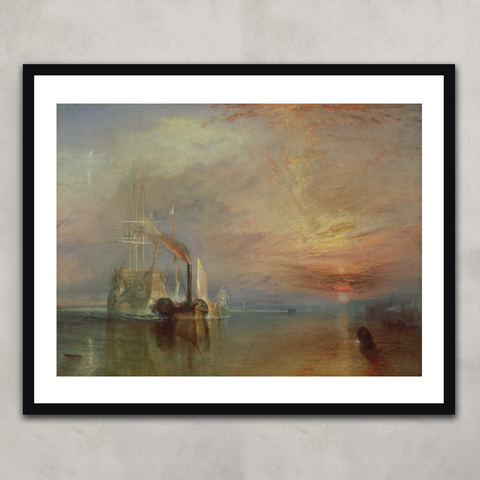 The Fighting Temeraire,  Joseph Mallord William Turner