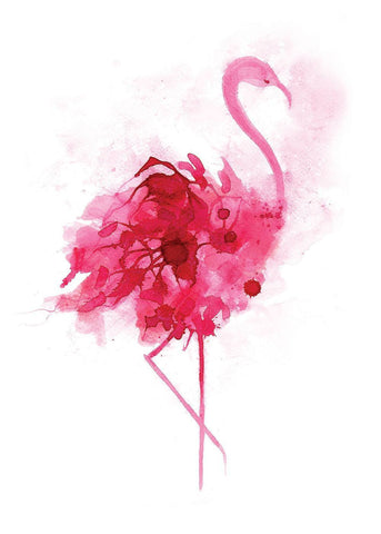 Flamingo Limited Edition Screen Print, Gavin Dobson
