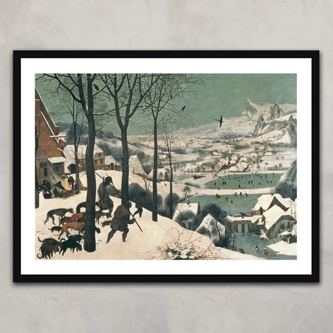Hunters in the Snow, Pieter the Elder Bruegel