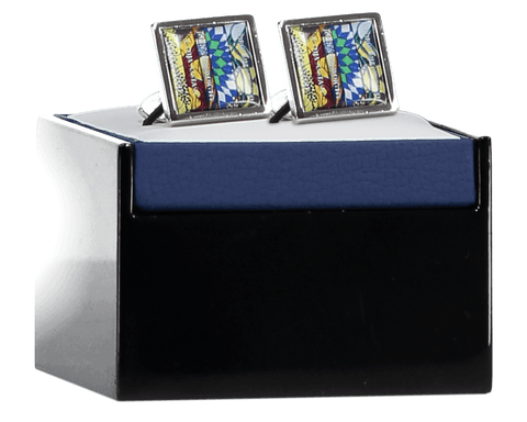 Cufflinks, Yinka Shonibare Alternate View