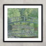 The Waterlily Pond: Green Harmony, Claude Monet