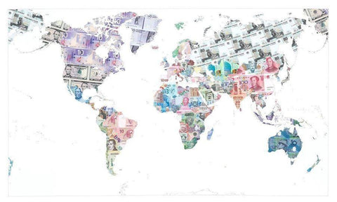 Money Map of the World, Justine Smith - CultureLabel - 1