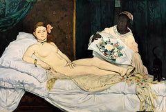 Olympia, Edouard Manet Alternate View