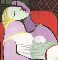 Le Reve (Marie Therese), Pablo Picasso Alternate View