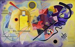 Yellow Red Blue, Wassily Kandinsky Alternate View