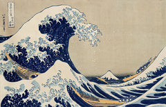 The Great Wave off Kanagawa, Katsushika Hokusai Alternate View