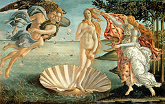 The Birth of Venus, Sandro Botticelli Alternate View