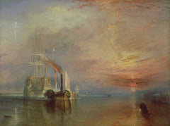 The Fighting Temeraire,  Joseph Mallord William Turner Alternate View