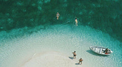 Exuma Holiday, Slim Aarons Alternate View