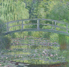 The Waterlily Pond: Green Harmony, Claude Monet Alternate View