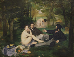Dejeuner sur l'Herbe, Edouard Manet Alternate View