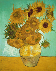 Sunflowers, Vincent Van Gogh Alternate View